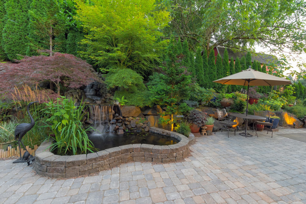 Hardscapes and outdoor patios